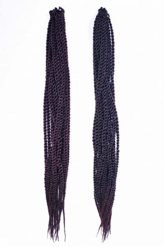 Angels Mambo Pre- Looped Crochet  Twist Braids  - Extra Long